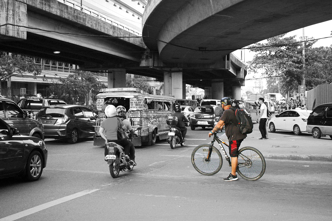 C5-Ortigas Ave. Bike Commuter