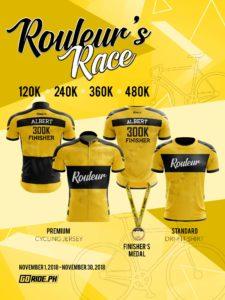 GORIDE.PH Rouleur's Ride event poster