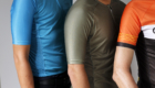 Sleeve length comparison of regular and endurance jerseys