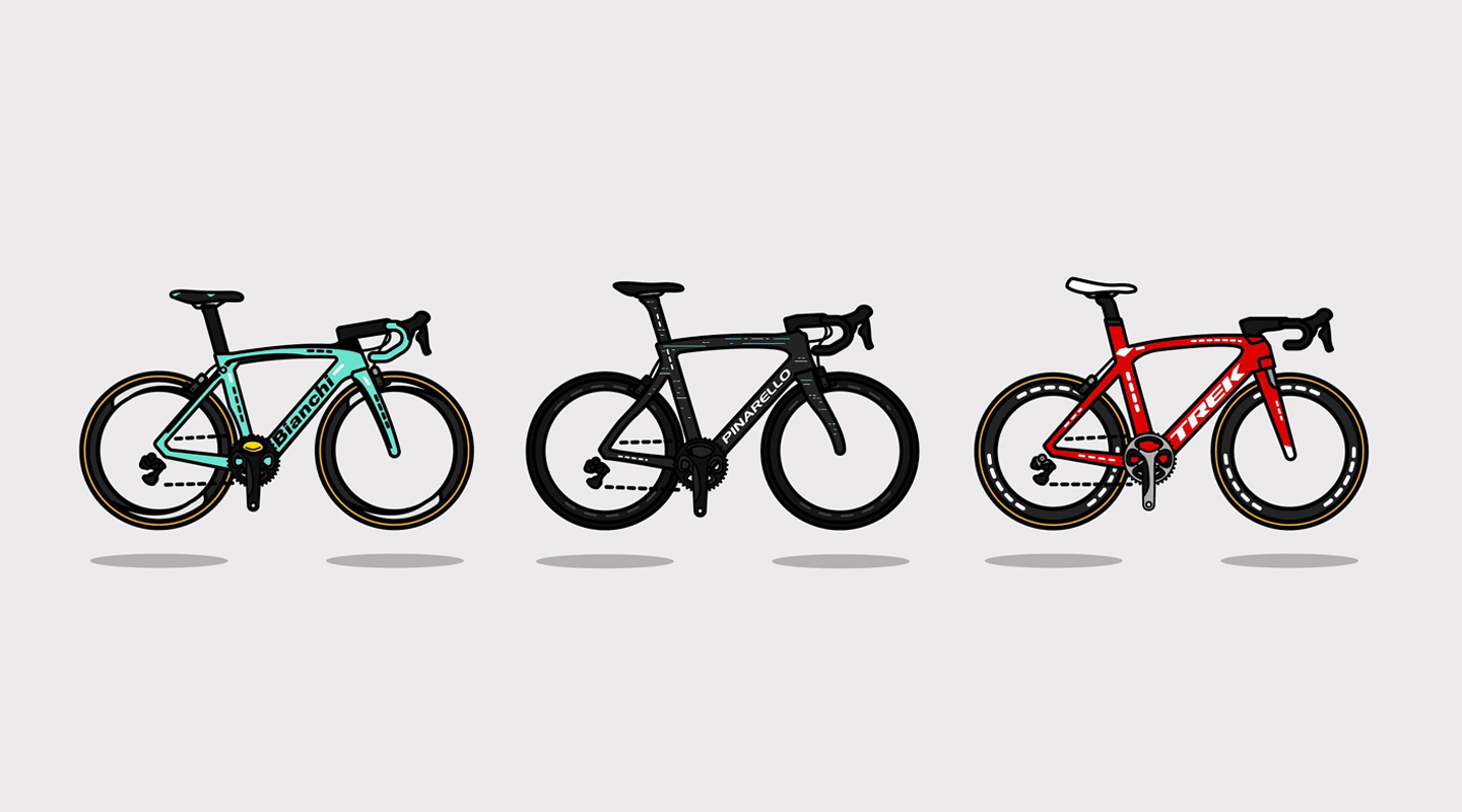Bicycle Illustration Archive