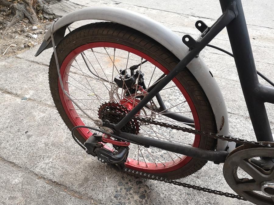 Compact Utility Bike (CUB) Tourney groupset
