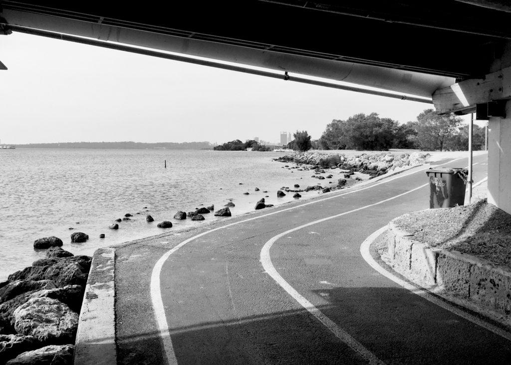 Perth cycle lane